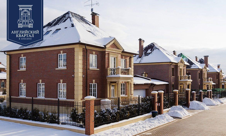 Загородные дома в английском стиле на Новой Риге.