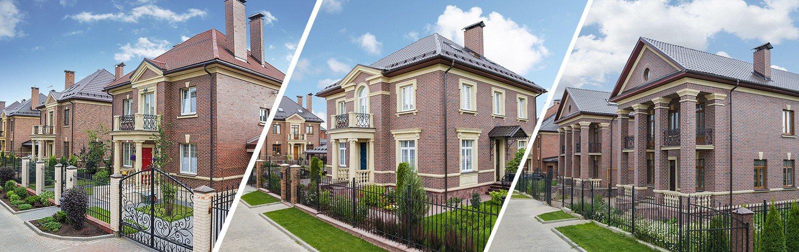Строительство и продажа домов в английском стиле в 24 км. от МКАД