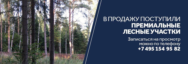 Продажа лесных участков в Усадьбе Аносино